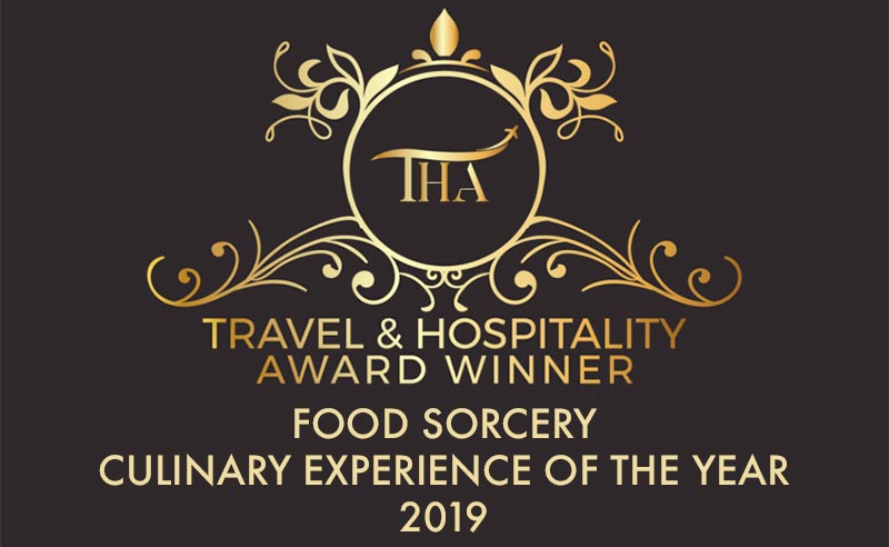 Winner of Culinary Experience of the Year – The Travel & Tourism Awards