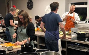 image of fit food healthy eating class attendees