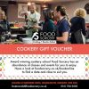 image of cookery gift voucher for foodie events and classes at the cookery school