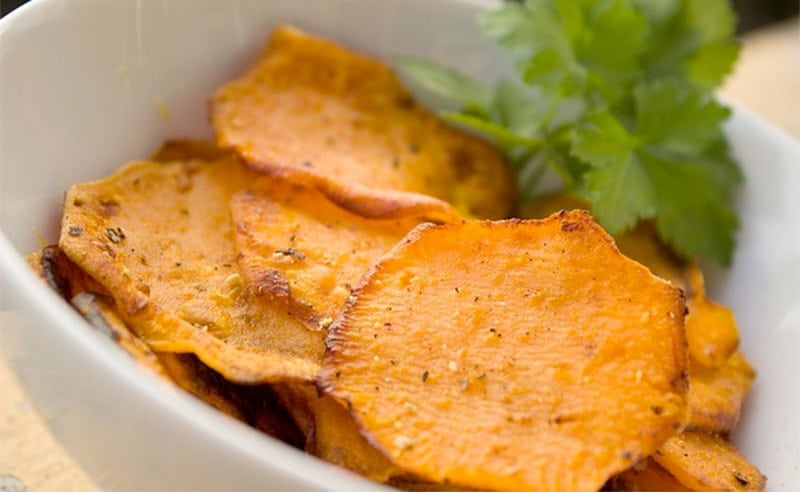 Fit Food – Sweet Potato Nachos with Guacamole and Raw Salsa Recipes