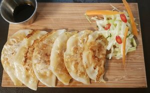 image of sweet potato gyoza recipe at the cookery school near wilmslow in cheshire