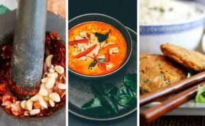 Read more about the article Thai Pastes & Curries – Red Paste, Fish Cakes, Thai Curry, Stir Fry