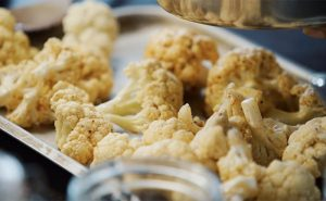 image of roasted cauliflower at the cookery school cooking together wilmslow near cheshire