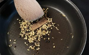 image of spices roasting cooking class manchester near wilmslow cheshire