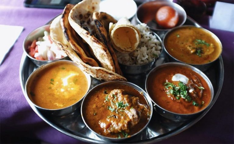image of Thali cookery class and feast