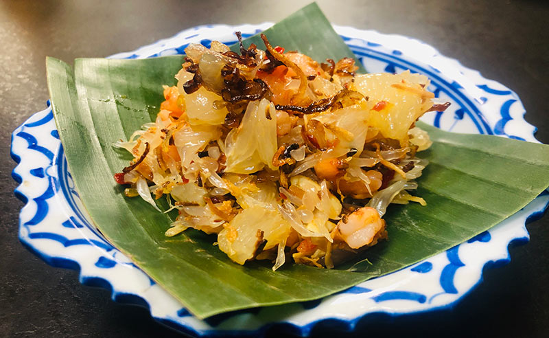 Cooking Together Thai recipes – Pomelo, Panang, Torte.