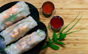 Read more about the article Vietnamese Cooking Together – Viet Slaw Summer Rolls, Coconut Caramel Chicken, Lime Slaw, Black Fried Rice