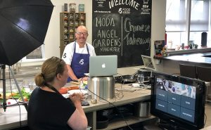 image of online cookery classes at food sorcery cookery school manchester near wilmslow and cheshire