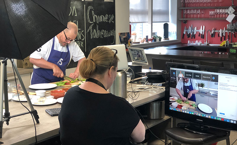 Online-cookery-class-manchester-team-building-lisa-and-jason