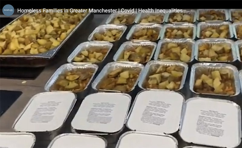 image of shared health foundation charity meals