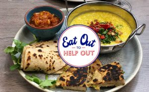Eat Out to Help Out – Indian Class & Meal