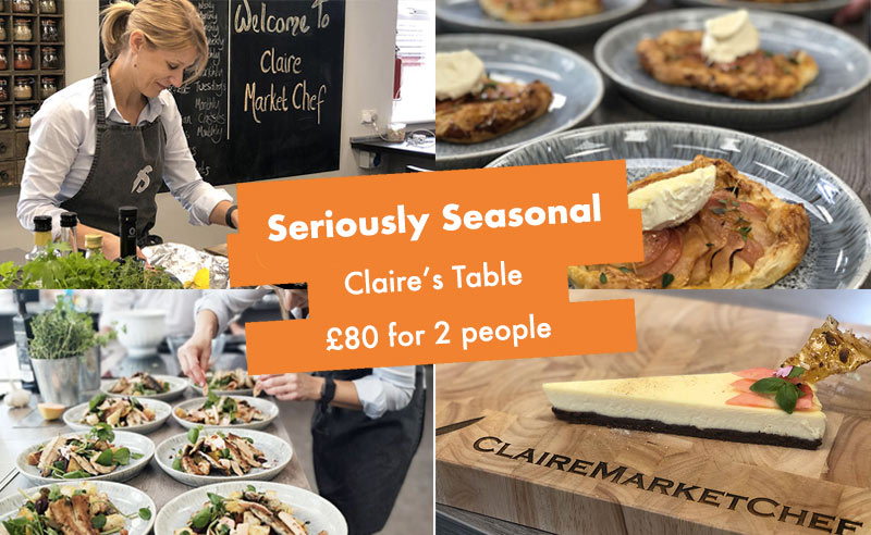 image of Claires table seasonal supper club