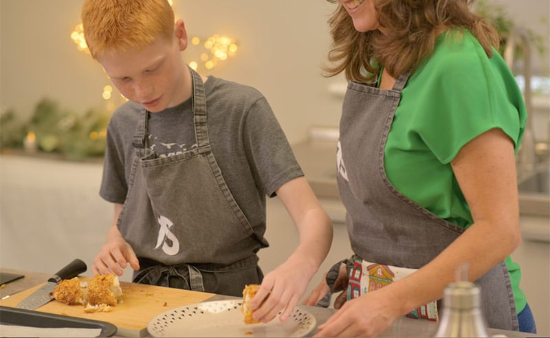 image oc Big and little cooks at the cookery school things to do parent and child Manchester