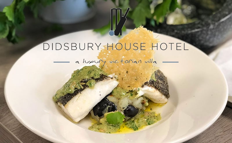 image of fine dining foodie friday at Didsbury hosue hotel