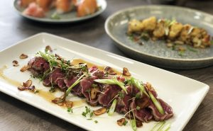 Read more about the article Japanese Cookery Class – Peashoot Ichiban Dashi; Orange Cured Scallops; Beef Takaki; Katsu Curry