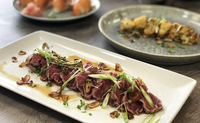 You are currently viewing Japanese Cookery Class – Peashoot Ichiban Dashi; Orange Cured Scallops; Beef Takaki; Katsu Curry