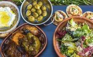 Read more about the article Middle Eastern – Lamb Kofta; Saffron Chicken; kuku Sibzamini Potatoes; Shirazi Salad; Babba Ganoush;