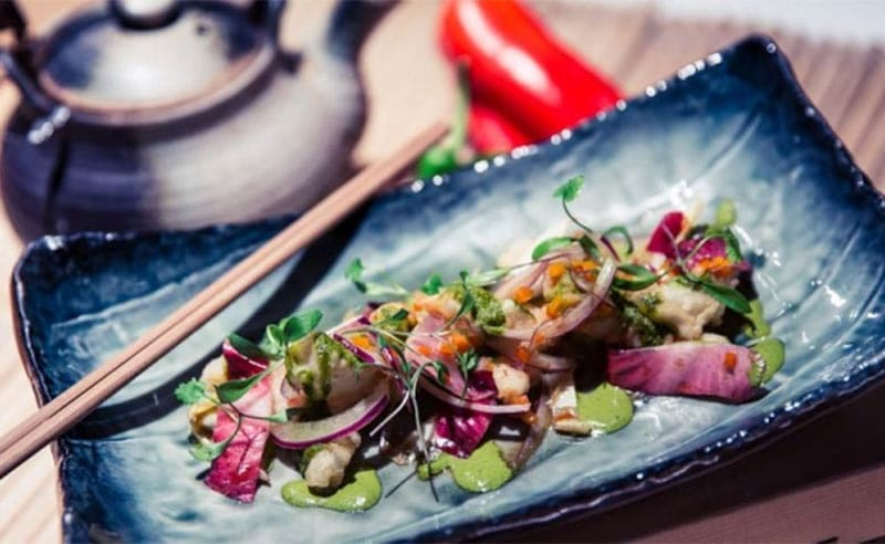 image of Nikkei Japanese Peruvian cookery class at food sorcery