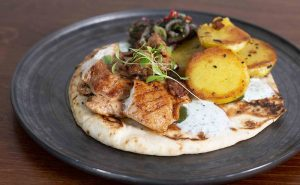 image of Middle eastern flat bread at the cook school Didsbury