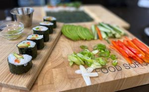 Read more about the article Big & Little Cooks – Katsu Curry,  handmade Sushi and Banana Split