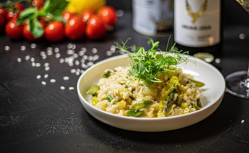 You are currently viewing Italian Streetfood – Busara Brushetta, Risotto, Arancini, Romesco