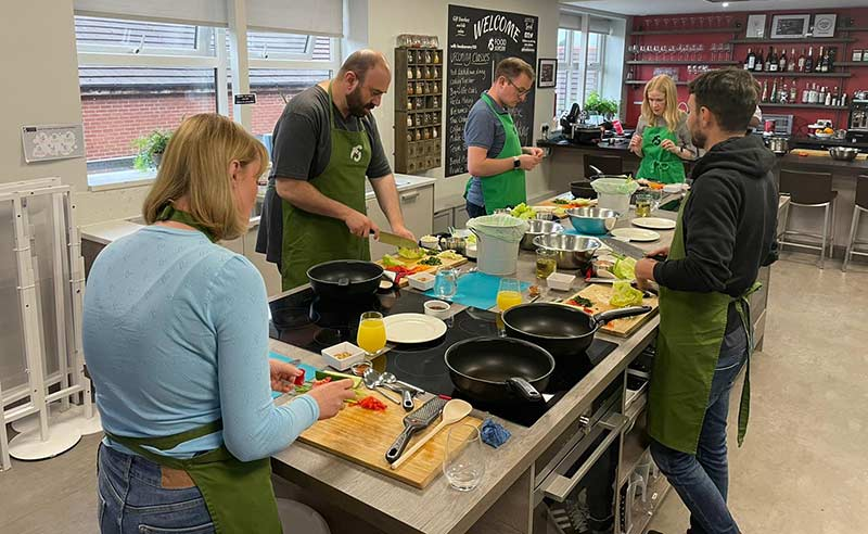 image of Vietnamese food learn how to cook at the culinary school Manchester
