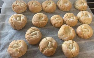image of almond biscuits at the best cookery school for gift vouchers