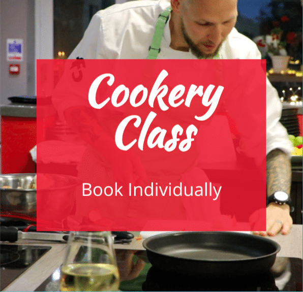 image of cookery classes for individual food lovers